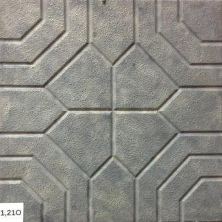 Формы для тротуарной плитки «Арабика No2» глянцевые пластиковые ABS