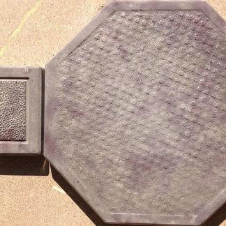 Формы для тротуарной плитки «Восьмигранник Циновка» глянцевые пластиковые АБС ABS