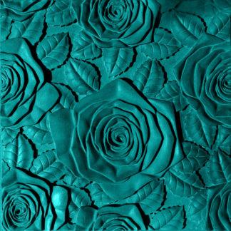 """Форма для 3D панелей из гипса """"Розы"""" силиконовая"""